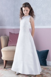 Emmerling White Communion Dress - Style Delila