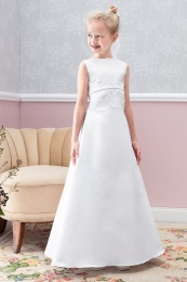 Emmerling Ivory or White Communion Dress - Style Diana