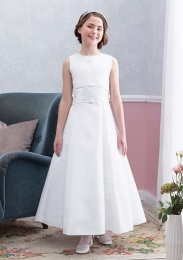 Emmerling Ivory or White Communion Dress - Style Edwina