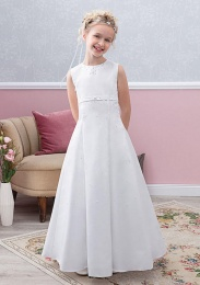 Emmerling Ivory or White Communion Dress - Style Effi