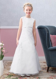 Emmerling Ivory or White Communion Dress - Style Elena