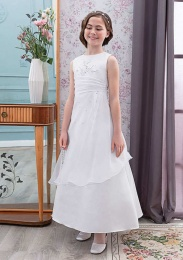 Emmerling Ivory or White Communion Dress - Style Elisa