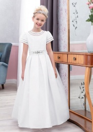 Emmerling Ivory or White Communion Dress - Style Elsa