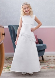 Emmerling Ivory or White Communion Dress - Style Emilia