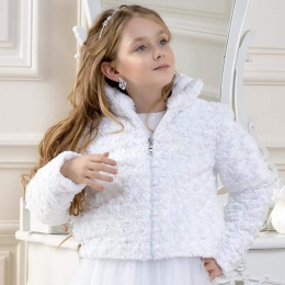 Girls Soft Velour Jacket by Lacey Bell Style CJ38