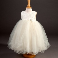 Girls Millie Grace 'Imogen' Lace & Tulle Dress