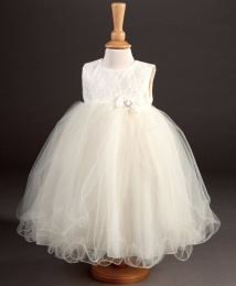 Girls Lace & Tulle Dress - Imogen by Millie Grace