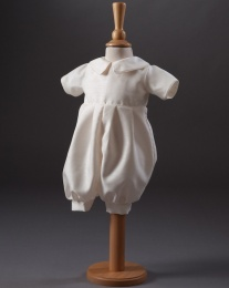 Baby Boys Christening Romper - Jack by Millie Grace