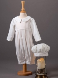 Baby Boys Cotton Romper & Hat - Jack by Millie Grace