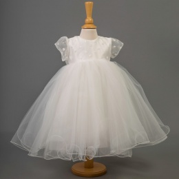 Baby Girls Porcelain Daisy Tulle Dress - Julia by Millie Grace
