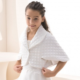 Girls Quilted Wide Collar Jacket by Lacey Bell Style K42