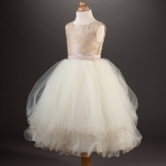 Busy B's Bridals 'Lainer' Butterfly, Lace & Tulle Dress