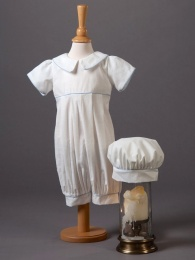 Baby Boys Cotton Romper & Hat - Louie by Millie Grace