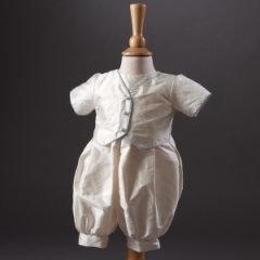 Baby Boys Millie Grace 'Max' Waistcoat Christening Romper