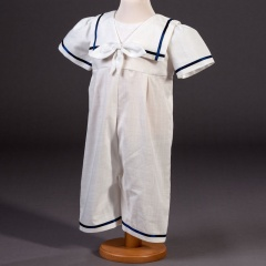 Baby Boys Millie Grace 'Charley' Sailor Christening Romper
