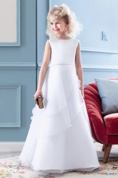 Emmerling White Communion Dress - Style PW 2025