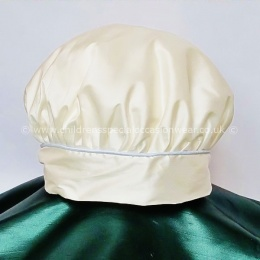 Baby Boys Millie Grace Ivory & Blue Silk Hat