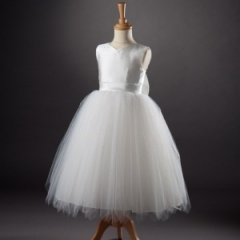 Busy B's Bridals 'Tate' Sweetheart Diamante Tulle Dress