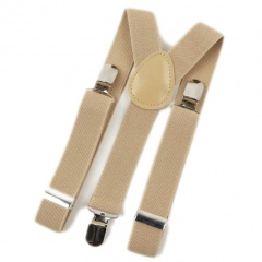 Baby / Toddler Beige Y-Back Adjustable Braces