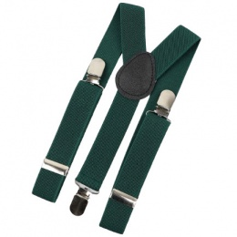 Baby / Toddler Dark Green Y-Back Adjustable Braces