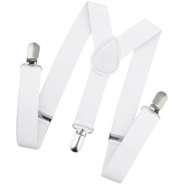Baby / Toddler White Y-Back Adjustable Braces