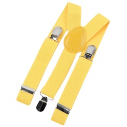 Baby / Toddler Yellow Y-Back Adjustable Braces