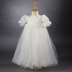 Baby Girls Millie Grace 'Poppy' Christening Gown & Bonnet