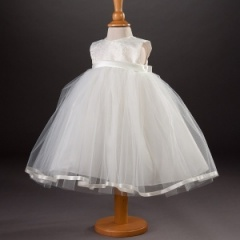 Baby Girls Millie Grace 'Tilly' Brocade & Tulle Dress