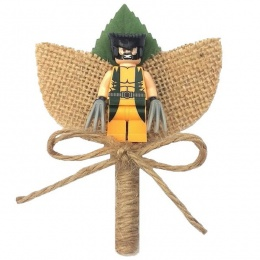 Boys Wolverine Hessian & Twine Rustic Buttonhole