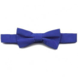 Boys Dark Blue Pre-Tied Bow Tie on Band