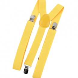 Children's Yellow Y-Back Adjustable Braces