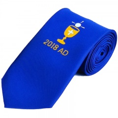 Boys Blue Chalice & 2018 Date First Holy Communion Tie