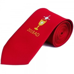 Boys Red Chalice & 2018 Date First Holy Communion Tie