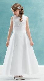 Emmerling White Communion Dress - Style Celeste