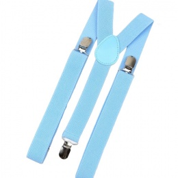 Children's Sky Blue Y-Back Adjustable Braces
