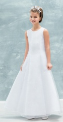 Emmerling White Communion Dress - Style 77712