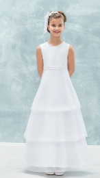 Emmerling White Communion Dress - Style 77715