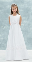 Emmerling White Communion Dress - Style 77716