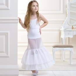Girls Full Length Double Hoop Underskirt by Lacey Bell Style CP2