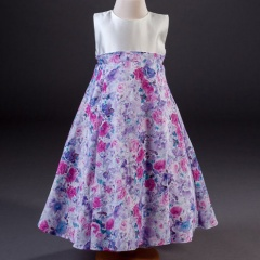 Girls Millie Grace Diana Floral Print Dress