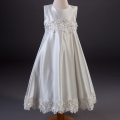 Girls Millie Grace Tina A-line Guipure Lace Dress