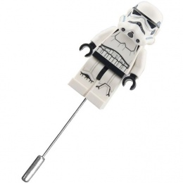 Stormtrooper Mini Figure Buttonhole Lapel Pin