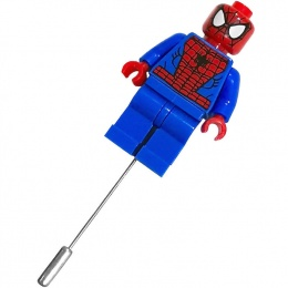 Spiderman Superhero Mini Figure Buttonhole Lapel Pin