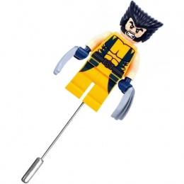 Wolverine Superhero Mini Figure Buttonhole Lapel Pin